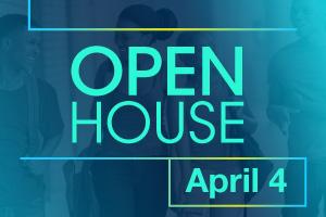 Open House - April 4, 2017