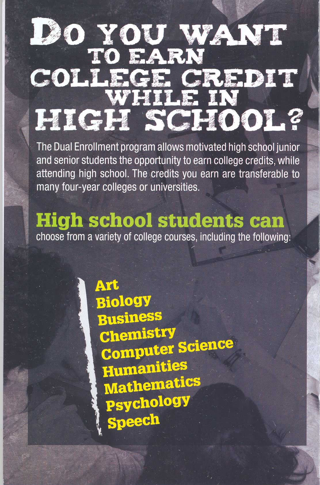 City Colleges Of Chicago Dual Credit Dual Enrollment