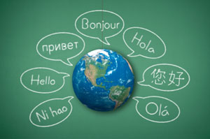 The world in many languages