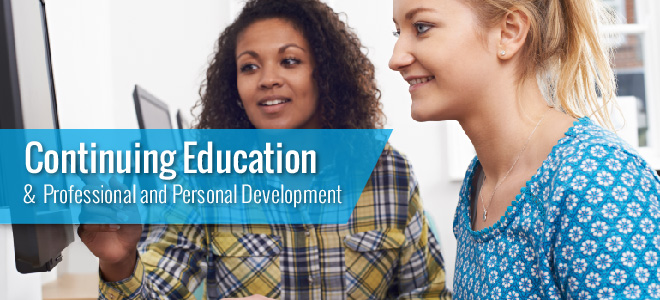Continuing Education and Personal and Professional Development