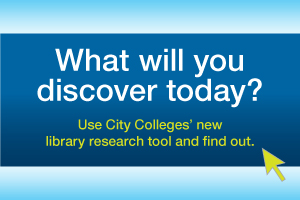 CCC's libraries offer a search tool with a simple interface to find electronic and print resources in one place