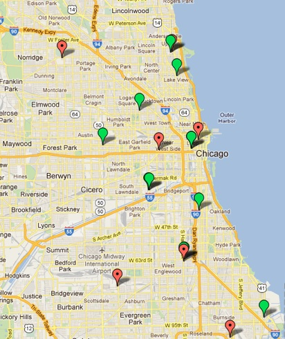 City Colleges of Chicago   Campus Locations/Maps